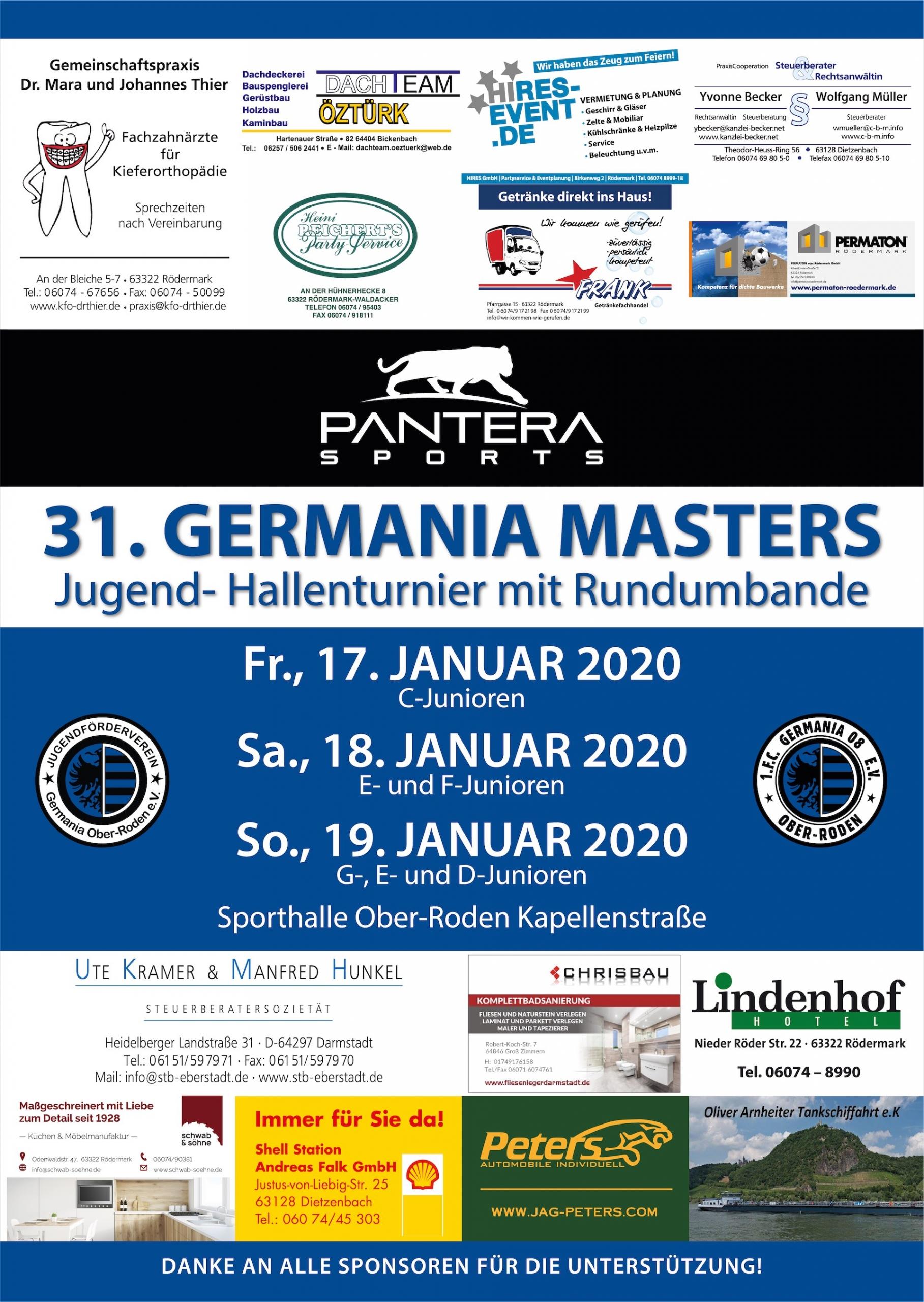 Germania Masters 2020